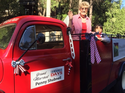 Penny is Grand Marshal